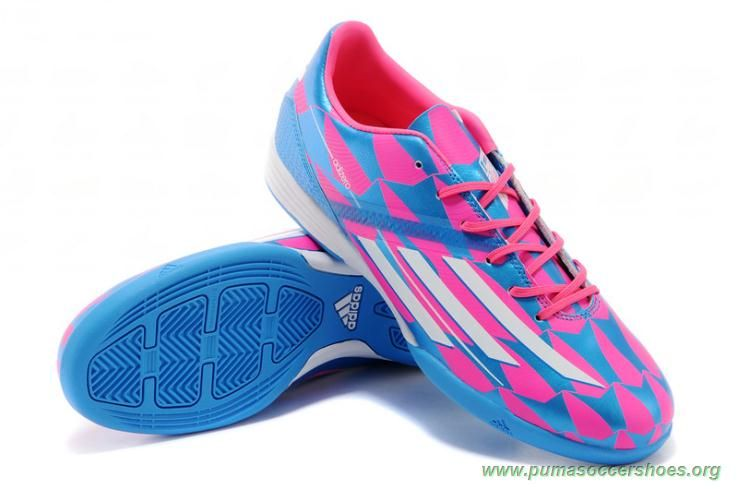 adidas f50 rosa blå