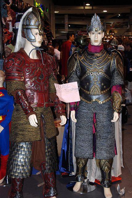 LOTR Rohan and Gondor armor | Armor costume inspiration ...  LOTR Rohan and ...