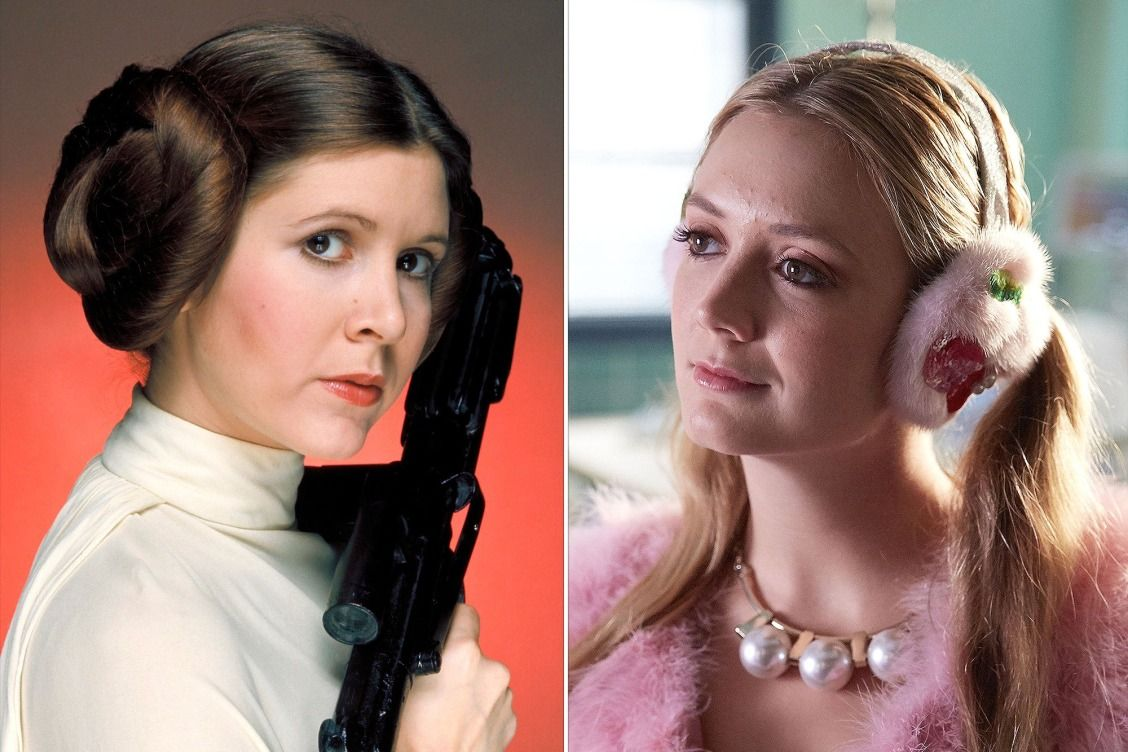 Billie Lourd's Scream Queens Look Was a Secret Homage to Her Mom Carrie  Fisher