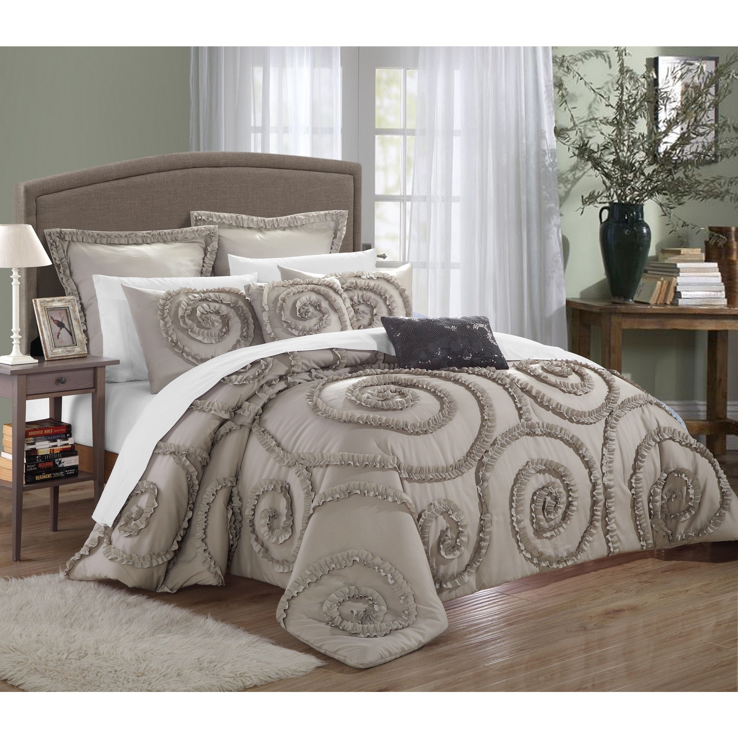 brown and ideas green sets set king design comforter home