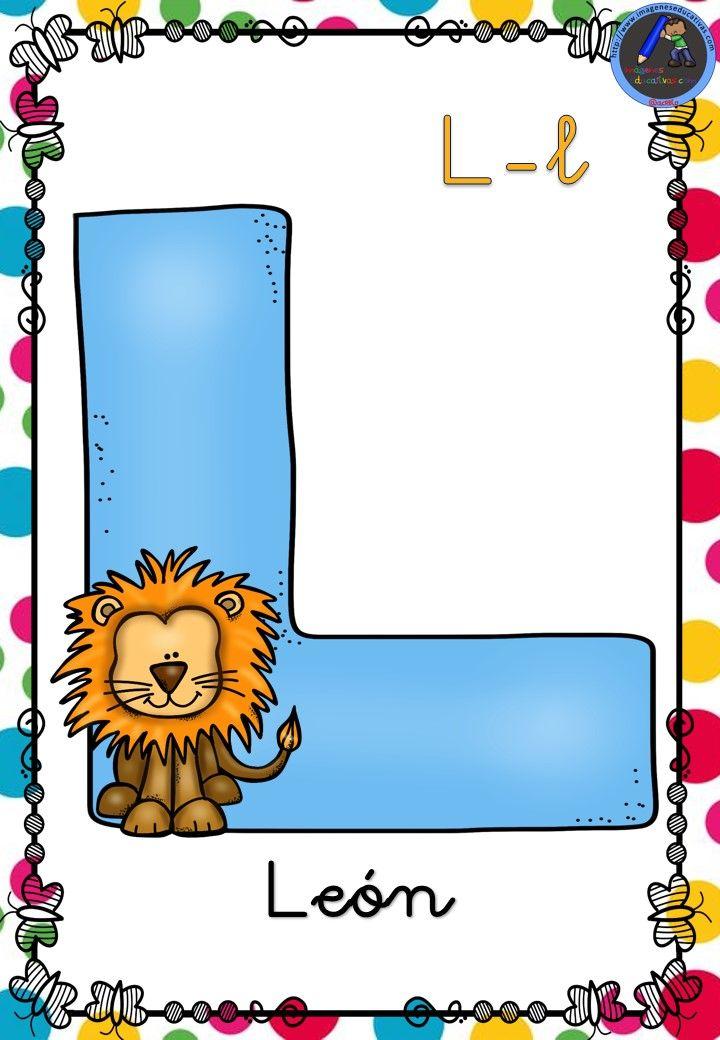 Abecedario animales para decorar 12 imagenes for Dibujos para decorar