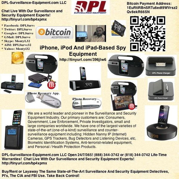 iphone surveillance equipment