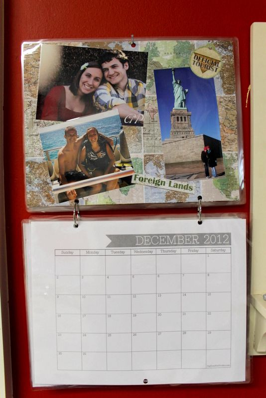 How to make your own photo calendar by This Handmade Circus Lauren