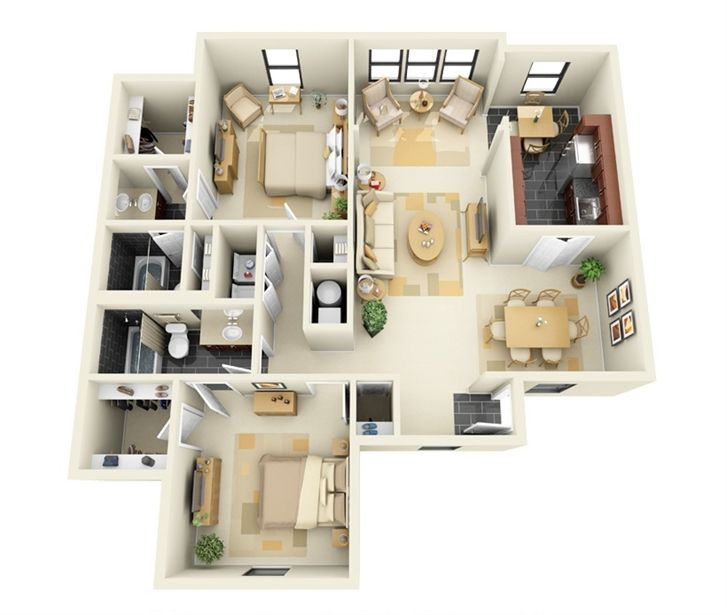 Delaney's Apartment