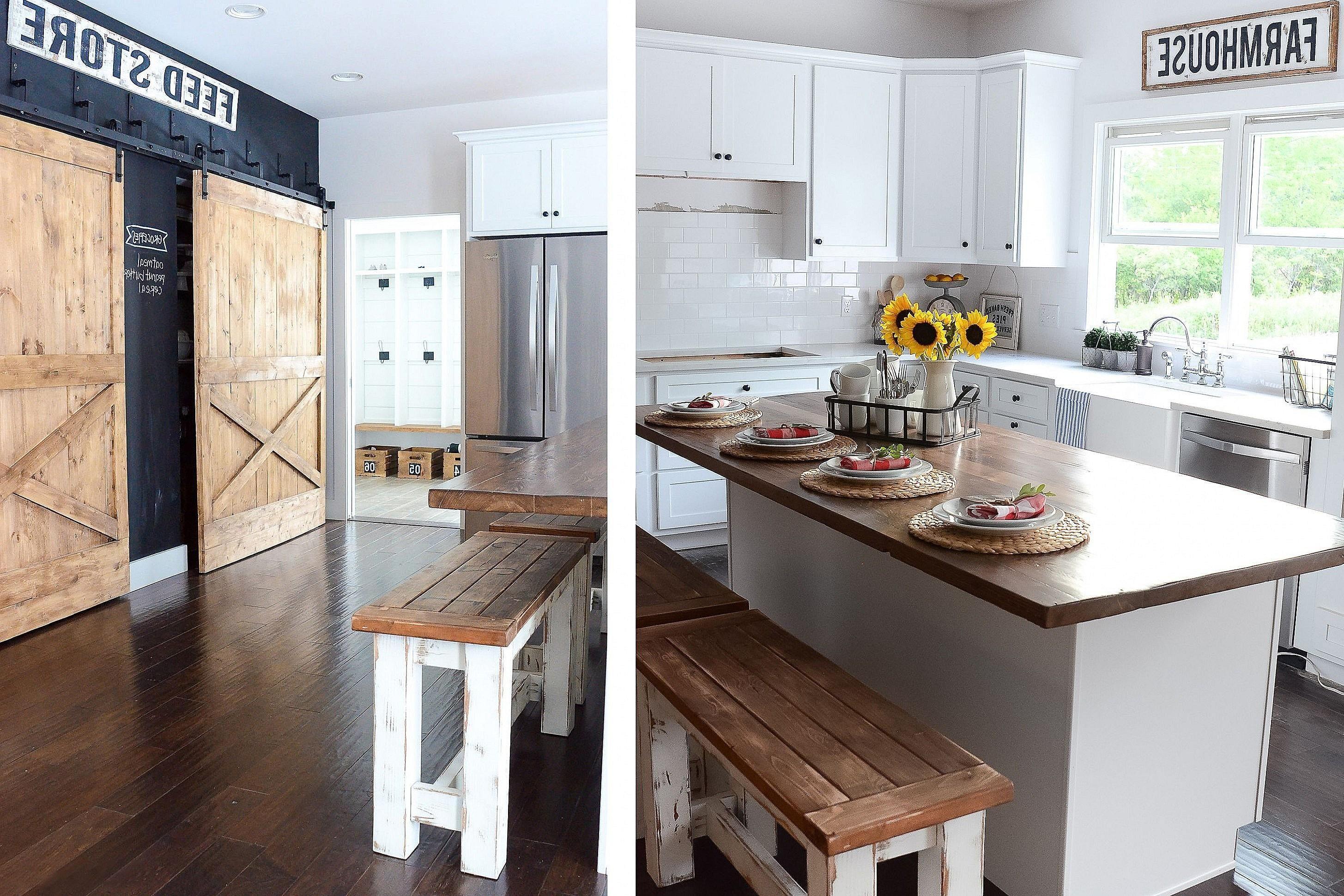 Luxury Kitchen Decor Ideas Pinterest Cabinet Design Farmhouse Remodel