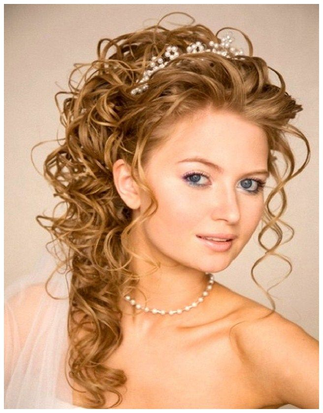half up half down wedding hairstyles images - Do It Yourself Half ...