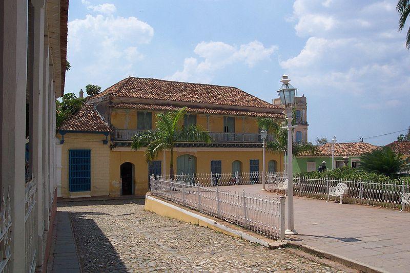 Casa de Aldemán Ortiz, Trinidad, Cuba Cuban architecture