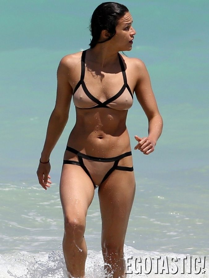 Think, Michelle rodriguez sexy breast have hit