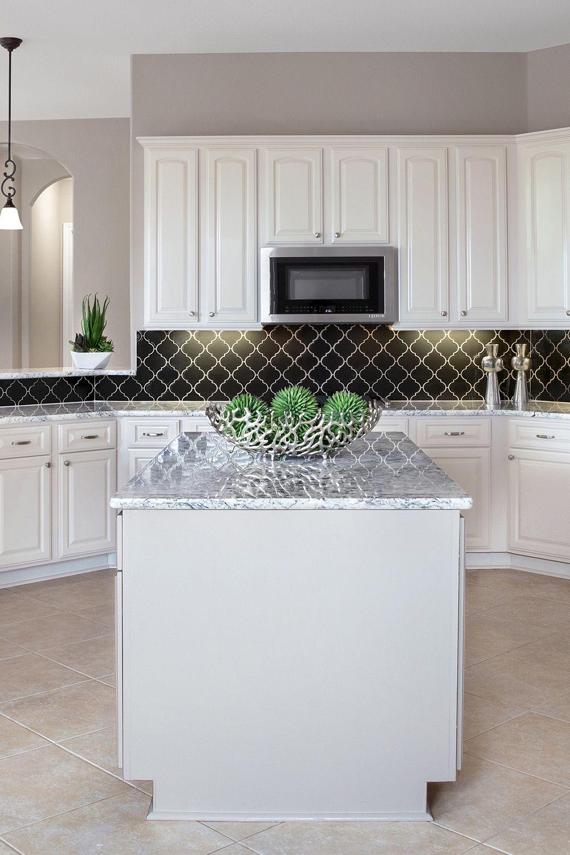 44 Top Arabesque Tile Kitchen Backsplash Design Ideas