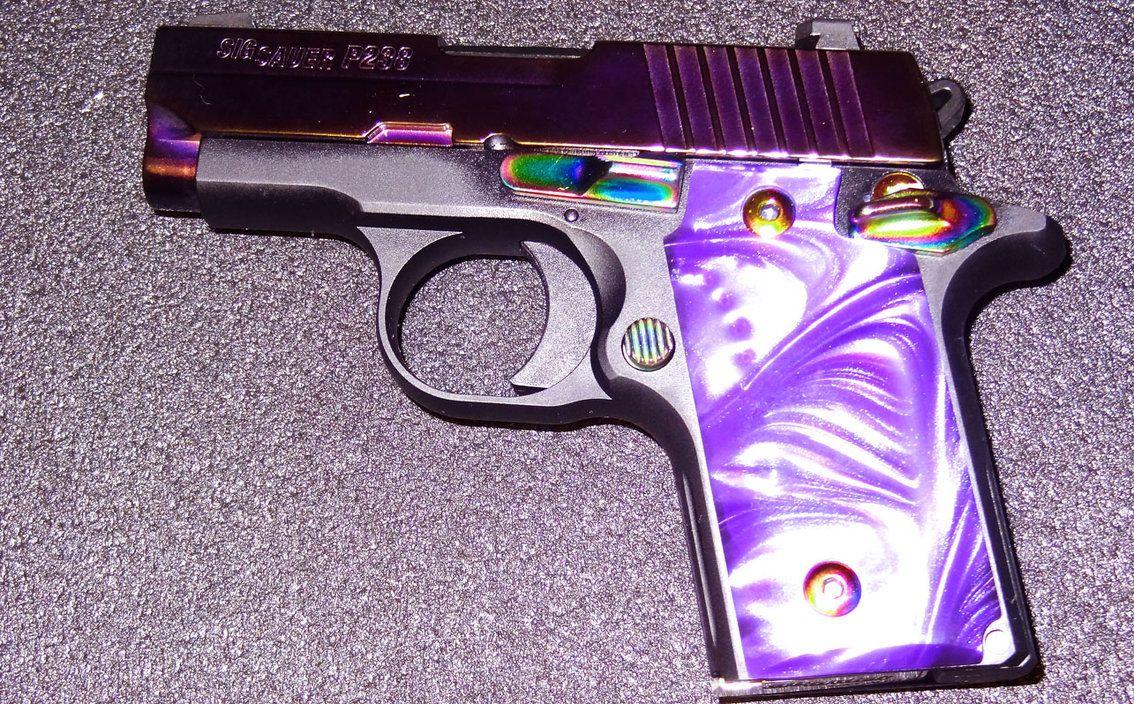 purple 9mm handguns for women | Purple Pearl by pitbulllady