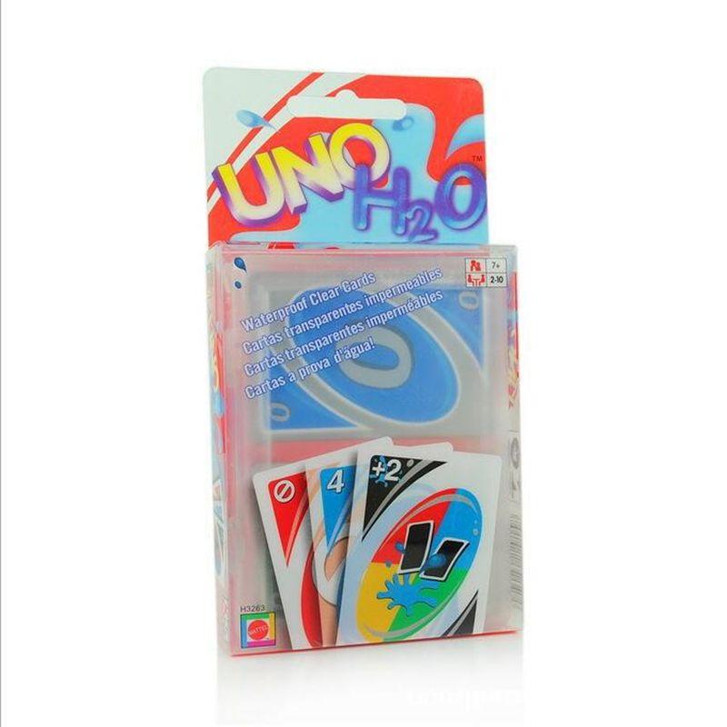 2016 새로운 방수 배 플라스틱 버전 럭셔리 Uno 포커 카드 게임 카드 Classic Card Games Card Games Classic Card