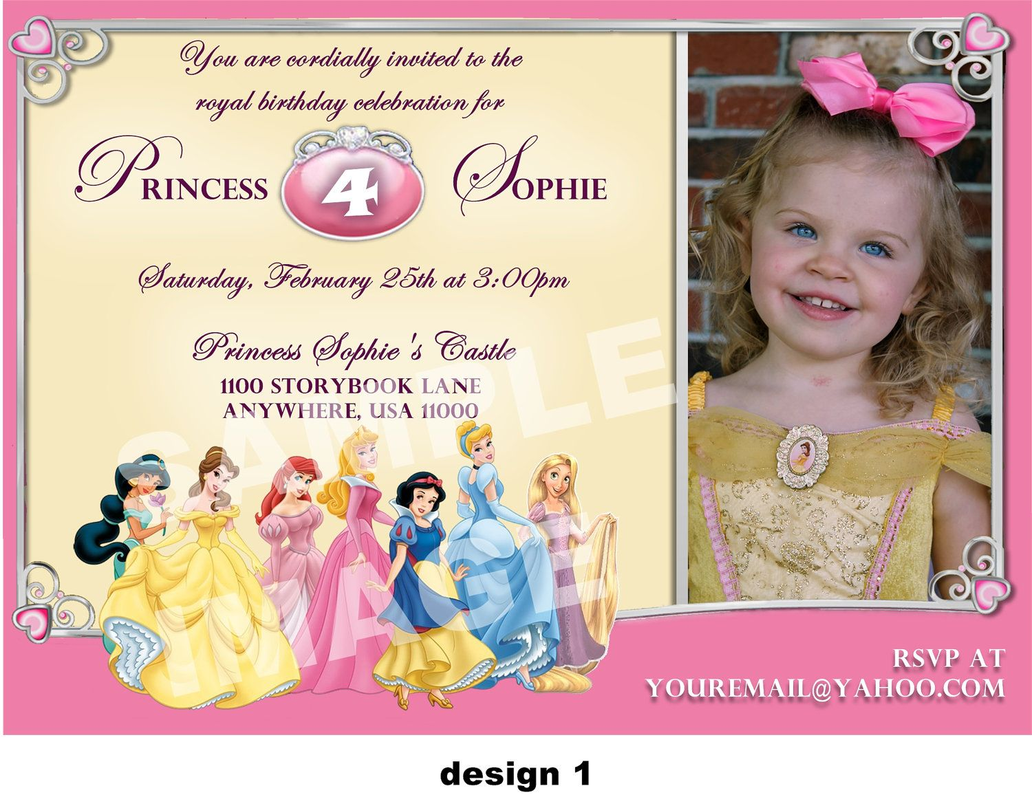 best images about cinderella invitations digital 17 best images about cinderella invitations digital invitations birthday party invitations and disney princess invitations