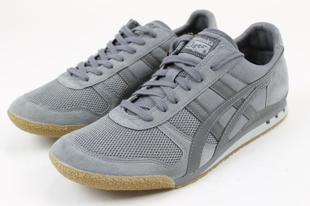watch 66f2f 5adf9 Onitsuka Mens Tiger Ultimate 81 Gray/Gum (Release Date ...