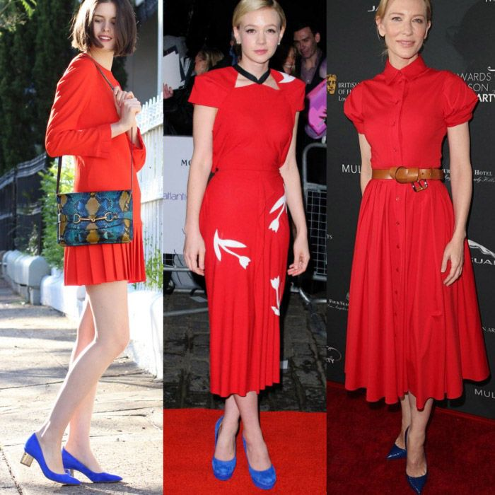 Best Picks: What Color Shoes to Wear with Red Dress | Colors, Blue ...