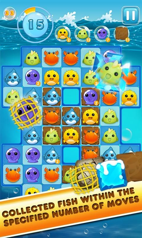 Charm Ocean Match 3 Android Apps On Google Play