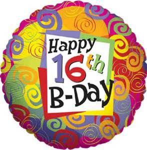 Happy 16th Birthday Yahoo Zoekresultaten Gefeliciteerd