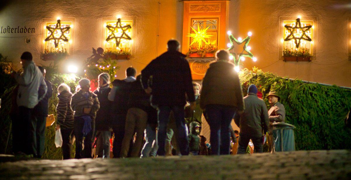 Kloster Andechs Weihnachtsmarkt.Der Andechser Christkindlmarkt Vor Dem Weihnachtlich