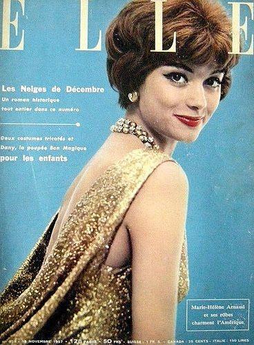 Elle Magazine; Model: Marie Helene Arnaud