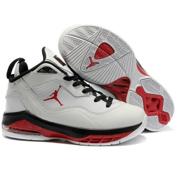 Jordan Melo M8 Kids' Basketball Shoes Varsity Red/Black/White KJM8-002
