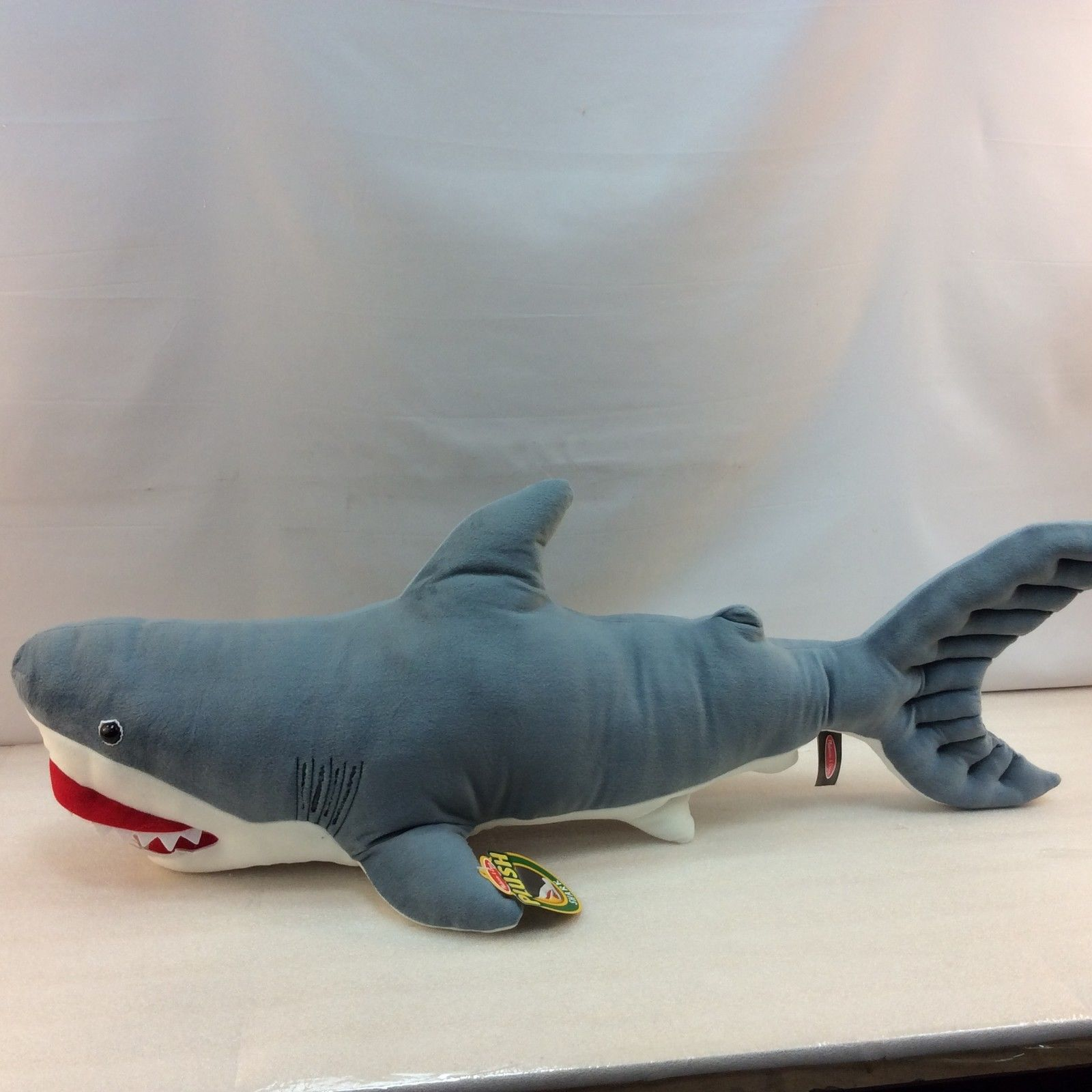 Melissa & Doug Giant Plush Shark Stuffed Animal