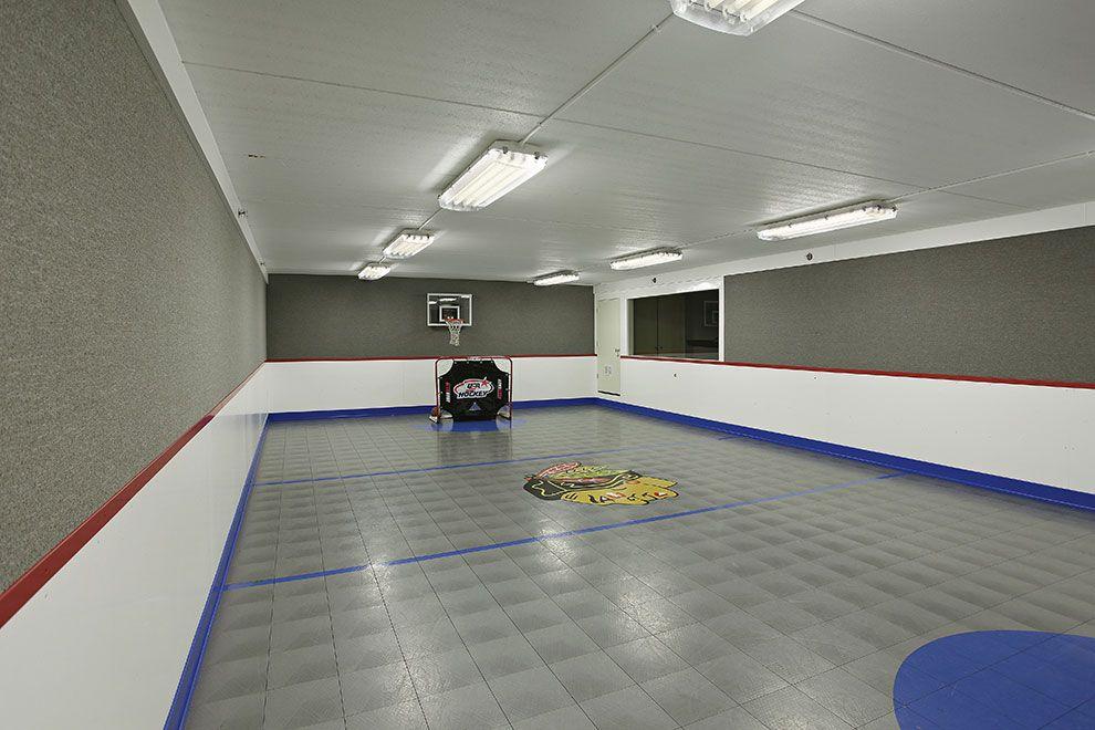 Lower Level Sport Court - SMART Builders - Fine Homes ...