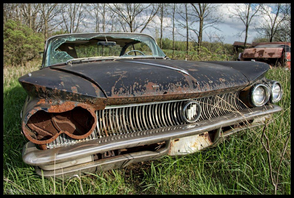 Find Cars Abandoned Buick In Rural Ontario