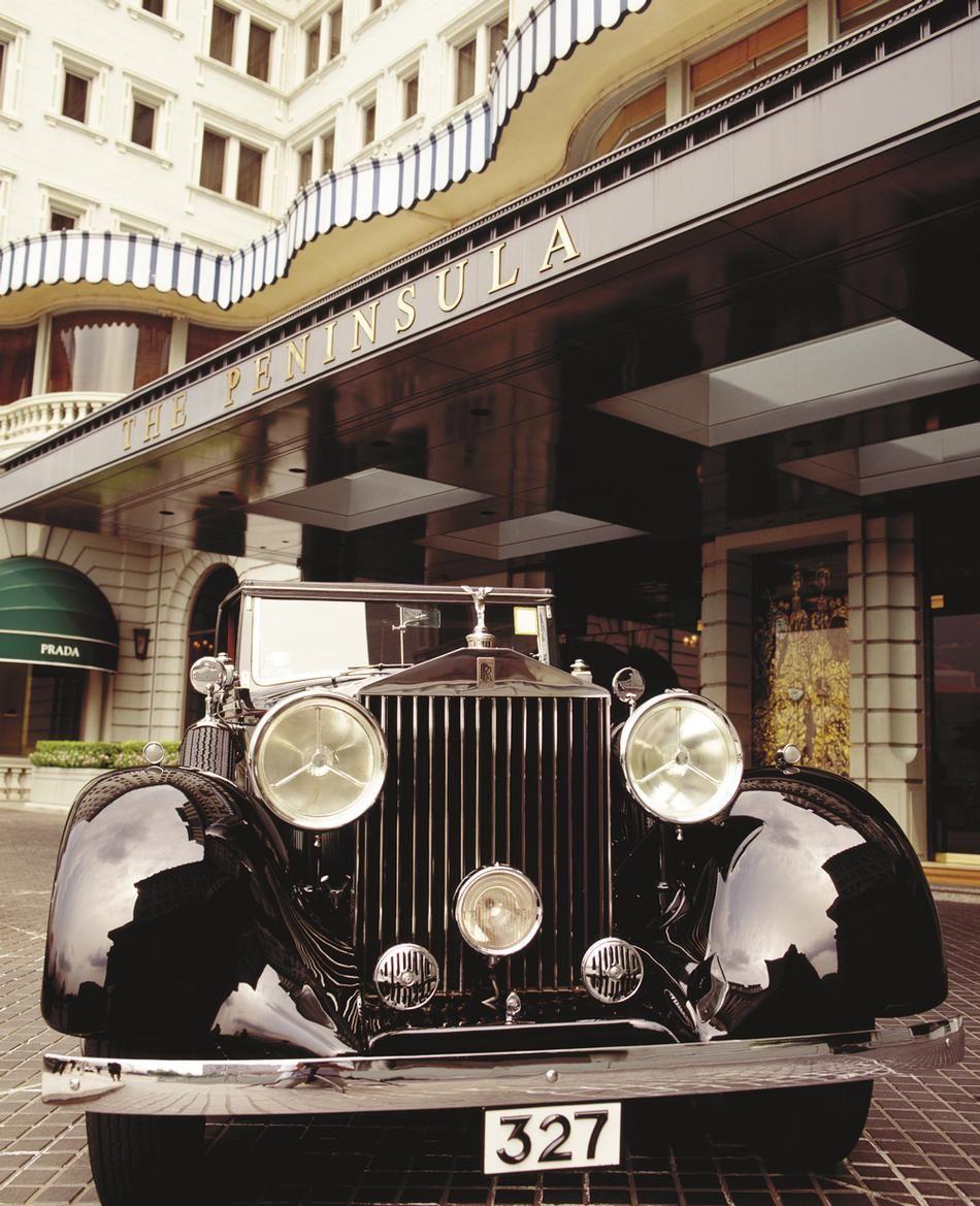 Peninsula Hotel, Rolls Royce