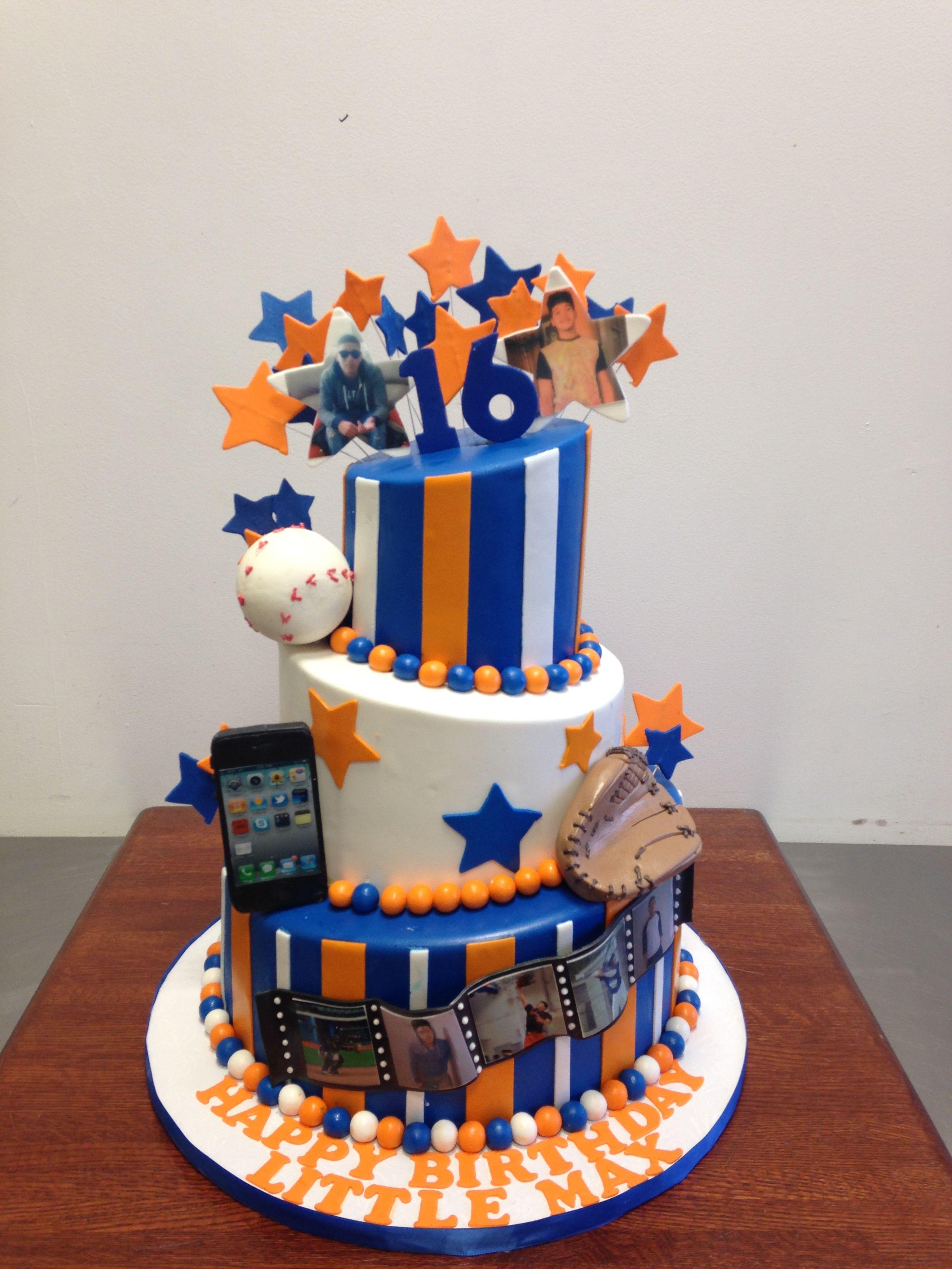 NY Mets Birthday Cake