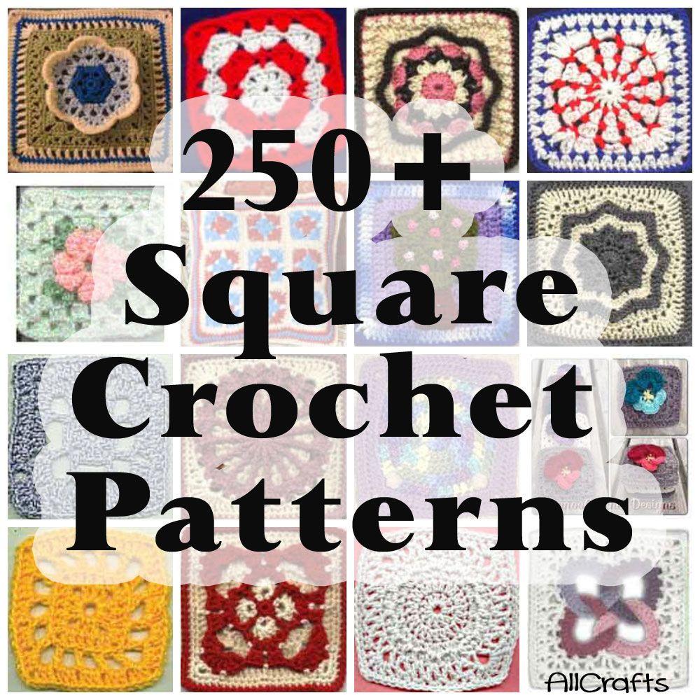 Free Crochet Squares Patterns | hacikovanie squares | Pinterest ...