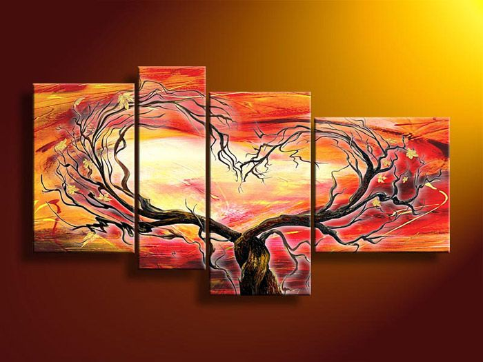 Painting For Bedroom abstract group paintings modern art ornament painting for bedroom