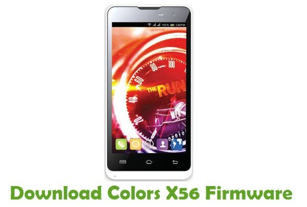 Colors X56 Firmware | Colors Stock ROM | Color, Android