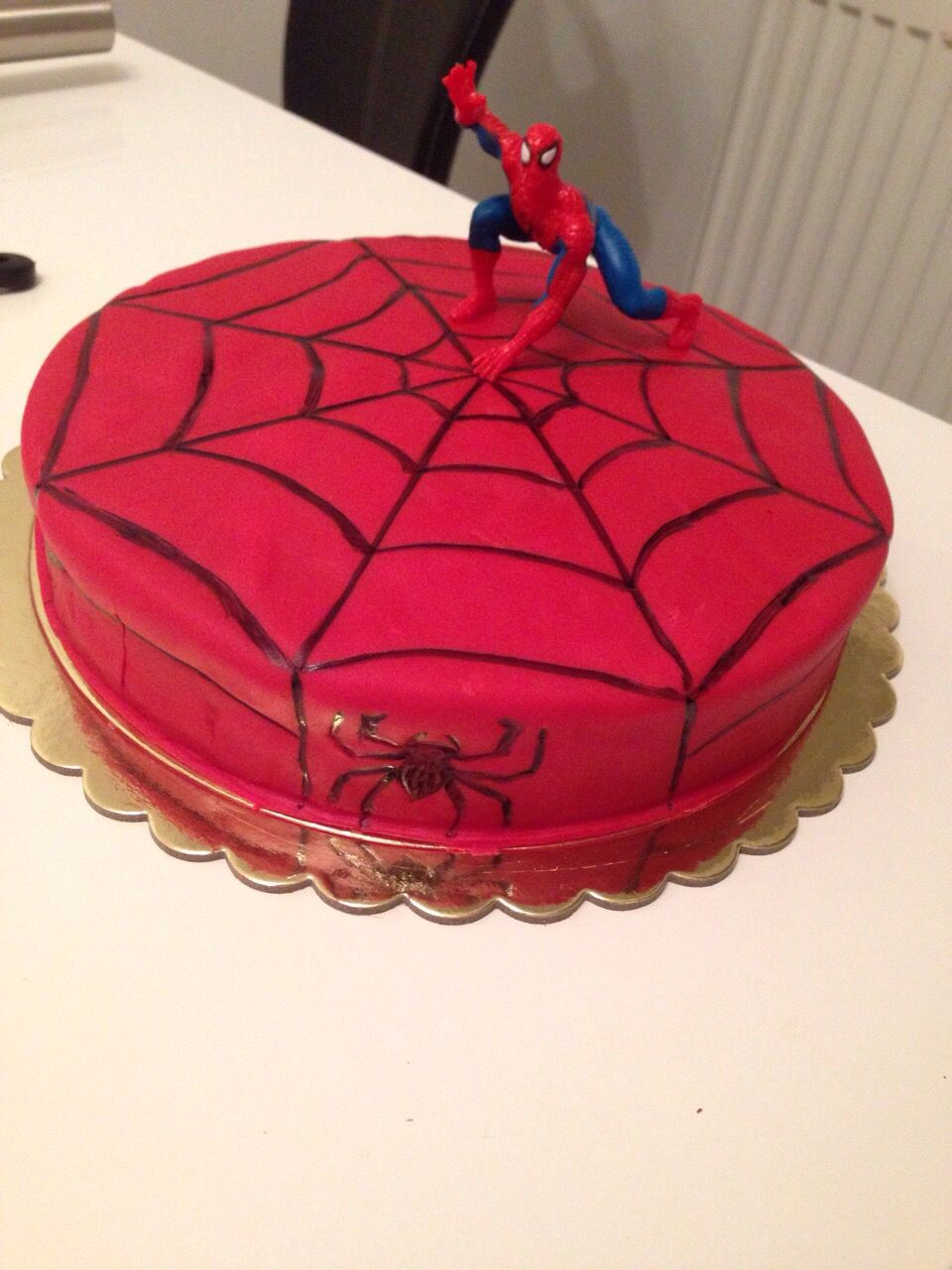 Spiderman Torte Familienküche Spiderman Kuchen Spiderman Torte