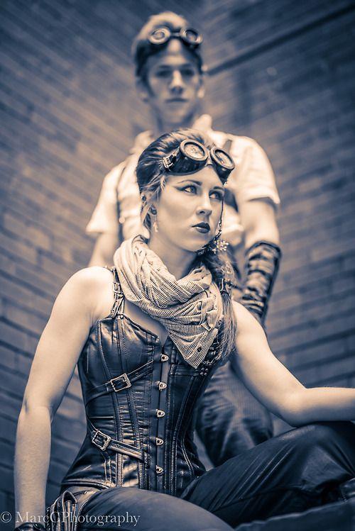 Benefik #steampunk girl arsenicinshell: marccphotography