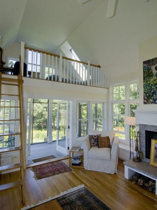 interior balcony railings with cathedral ceiling design pictures remodel decor and ideas - Balcony Loft House Plans