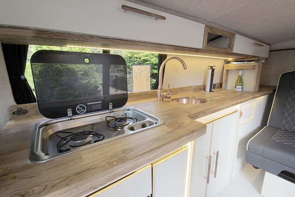 5 Kitchen Pods To Make Your Van Conversion A Little Easier In 2020 Van Conversion Kitchen Modular Kitchen Cabinets Moduler Kitchen