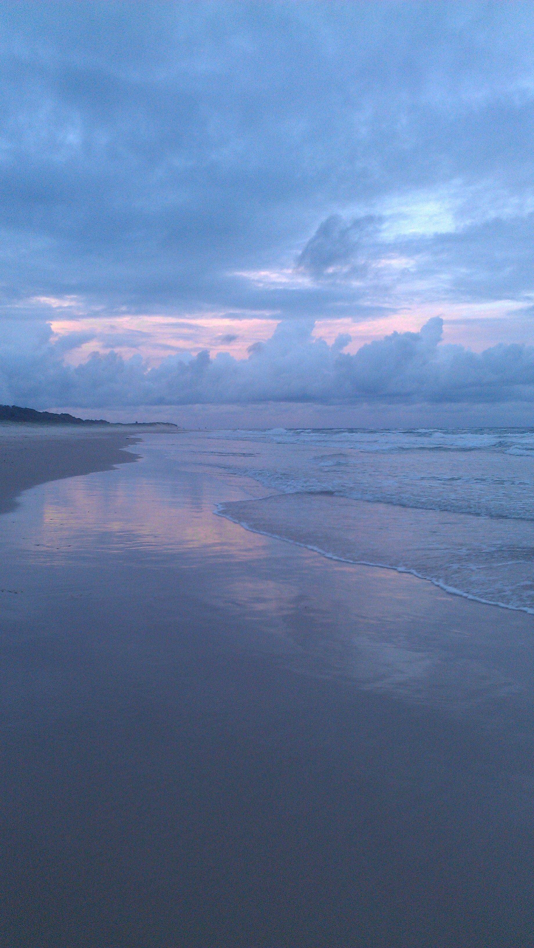 "b+s reader Jo Percival's #serenityspot: ""Sunset walk on Angel's Beach, Ballina, NSW."""