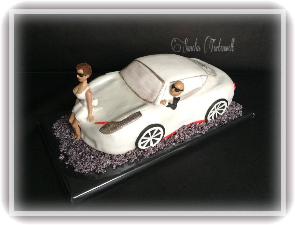 Die Hochzeitstorte 3d Auto Torte Car Cake Sanelas Tortenwelt