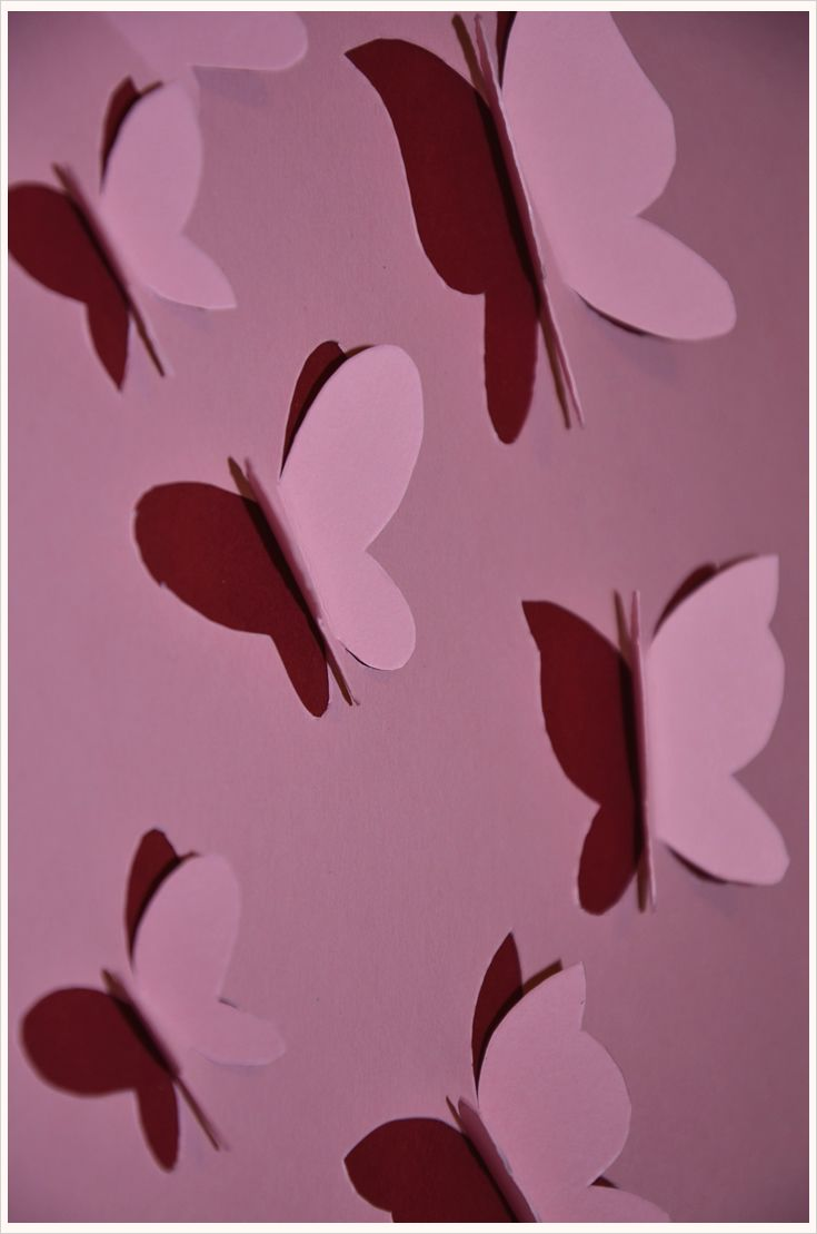 Schmetterlinge Für Die Wand : deko diy 3d schmetterlinge f r die wand deco diy 3d butterfly wall art decouf pinterest ~ Eleganceandgraceweddings.com Haus und Dekorationen