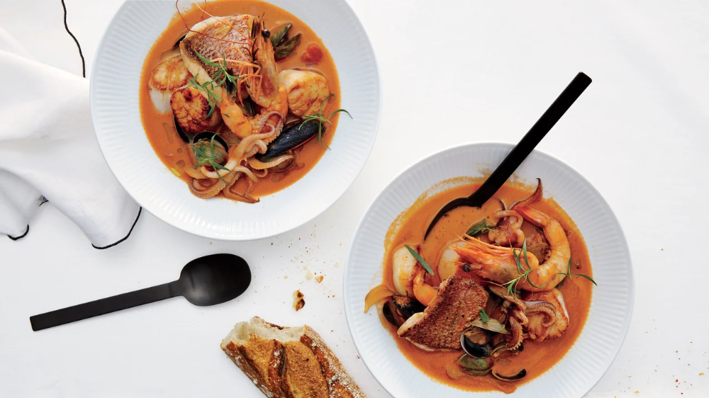 Seafood Stew for Two Recipe