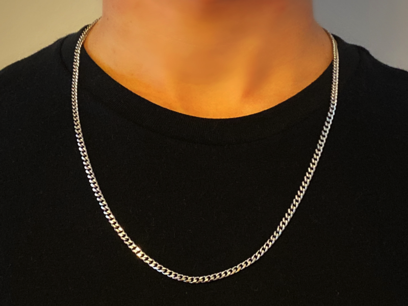 Sneakers Silver Chain Necklaces Silver Chain For Men Necklaces Mens Necklace Fashion In 2020 Silver Chain For Men Mens Silver Chain Necklace Mens Chain Necklace