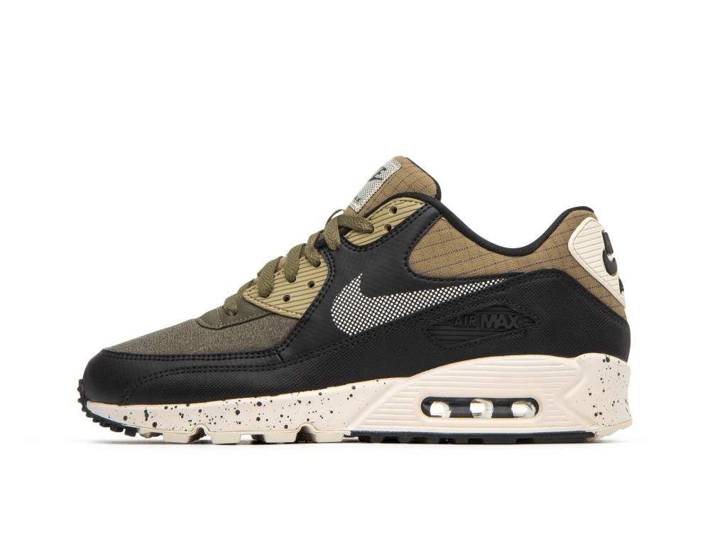 Nike Air Max 90 Premium Olive Black | Style | Vestuarios