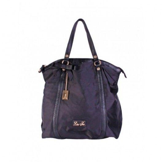 LIU JO BAG AMELIE A63074T6671 Black Shopping Bag Amelie 517929b18da