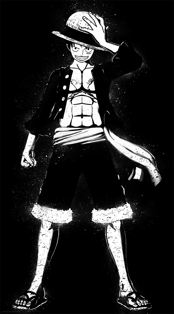 Pin Di Monkey D Luffy