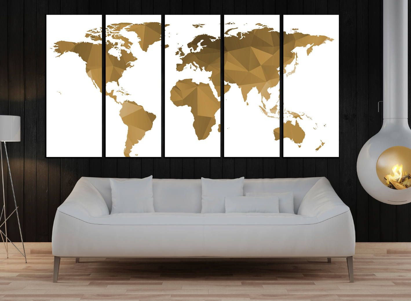 World map with big text for kids box canvas and poster print 901 big modern worldmap pinboard king in and out map big world map canvas gumiabroncs Gallery