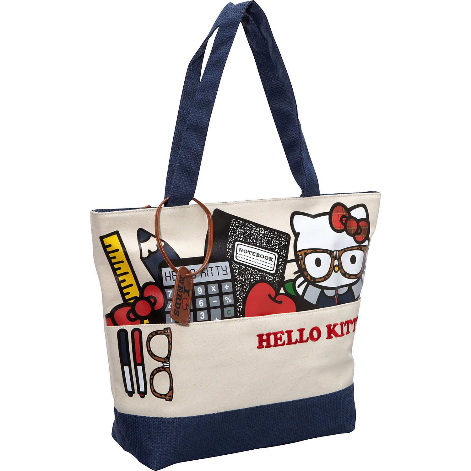 626393309b63 Loungefly Hello Kitty Nerds Stuff Tote - eBags.com