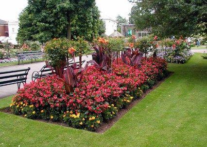 70 Garden Designs For Rectangular Gardens Ideas | Garden ...