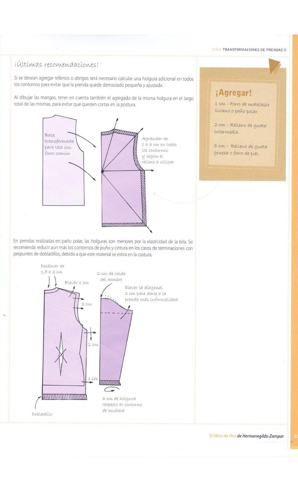 Costura,Patrones y mucho mas | Libro Hermes | Pinterest | Patrones ...
