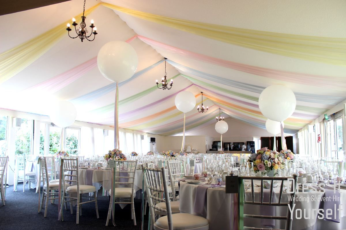 Wedding venue decoration images  Hunton Park  Summer Marquee  Ideas for decorating the Summer