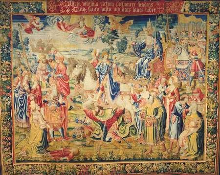 Don't miss this historic opportunity to witness The Triumphs exhibited together for the first time, on view now in Gallery 1 at the Legion of Honor.  Read all about it here!  #tapestry #textiles #textileart #textileartscouncil #tac