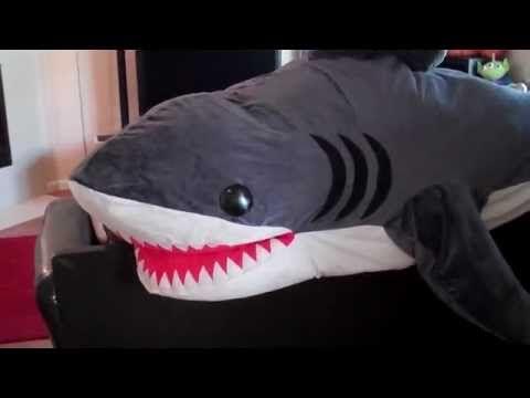 DIY: sleeping bag shark - YouTube | Best Sleeping Bags | Pinterest ...